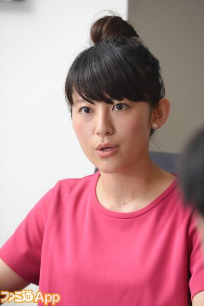真剣な表情の福田彩乃