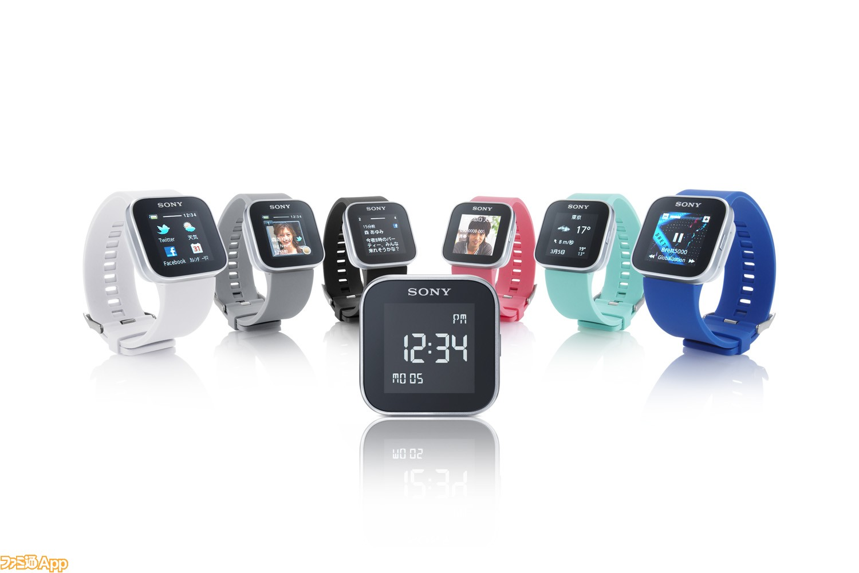 """これがスマホ用アクセサリーの最先端? Xperiaシリーズと連携する腕時計""""SmartWatch MN2 ..."""