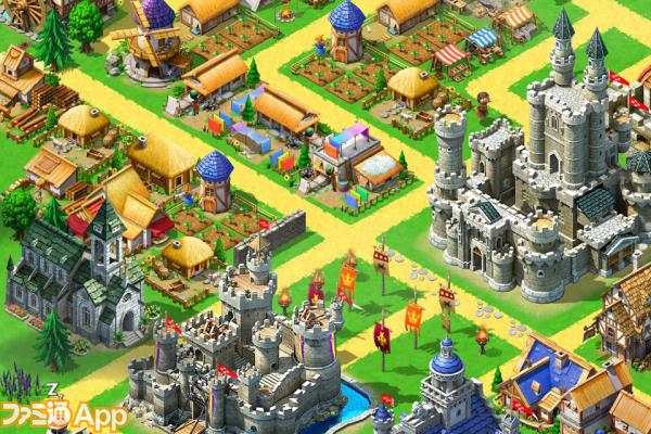 【新作情報】『キングダム&ロード』一介の農民から大国の長へ成り上がれ! ファミ通app