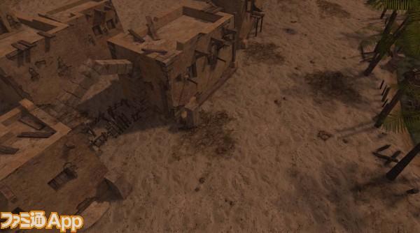 砂漠の峡谷