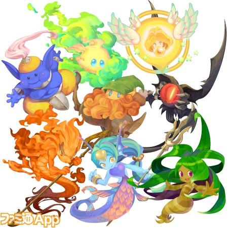 [世界樹]マナの八大精霊