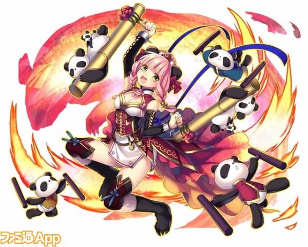 【魅惑の大熊猫】半獣型凛々