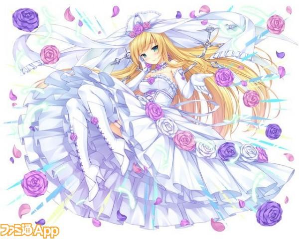【花婿掠奪】純白型金髪のイゾルデ