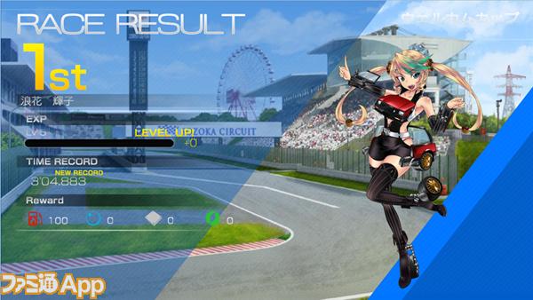 ⑤レース結果