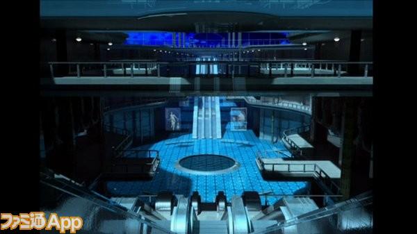 こちらは、蒼のクリスマスの舞台となる場所のCGデザイン