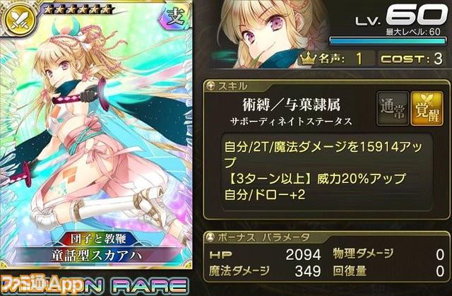 【団子と教鞭】童話型スカアハ