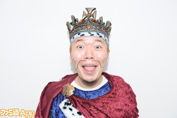 王様現衣装