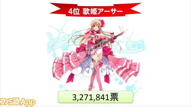 人気投票_4位歌姫アーサー