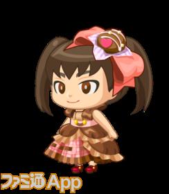 チョコレートドレス