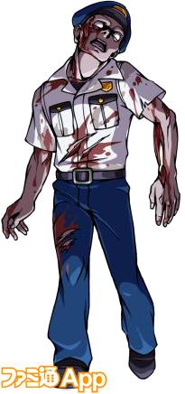 警官ゾンビ