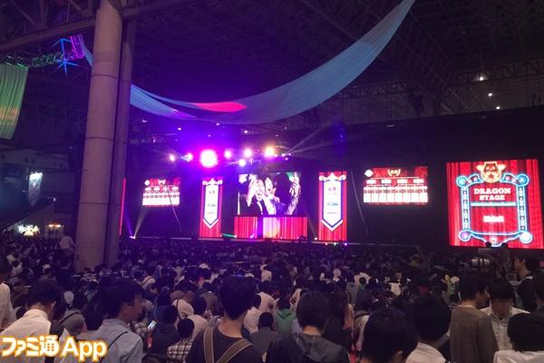 ガンフェス2016_開幕_ドラゴンステージ