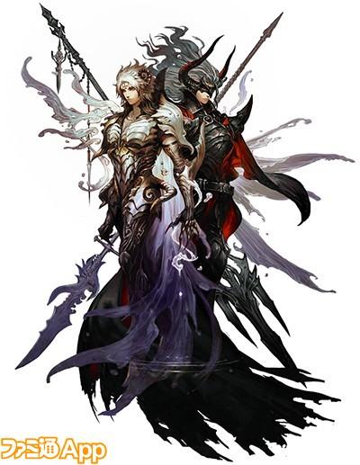 黒騎士と白の魔王_メインビジュアル