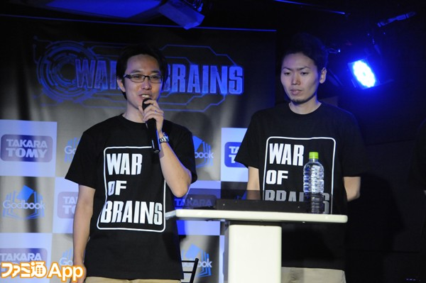 WAR OF BRAINS_ホビージャパン_影山氏_瀧村氏