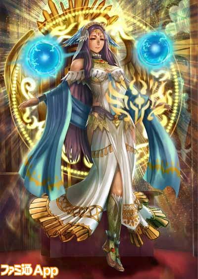 WAR OF BRAINS_華の女神 ヴェーダ