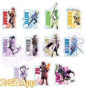 TVアニメ『ディバインゲート』Blu-ray&DVDジャケットイラストアクリルバッジ 全11種