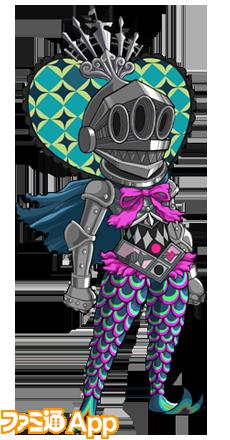 魔法少女まどか☆マギカコラボ_人魚の魔女装束