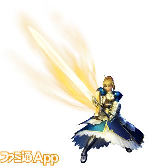 約束された勝利の剣、騎士王シリーズ