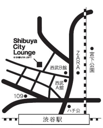 ギャラクシーカフェ地図