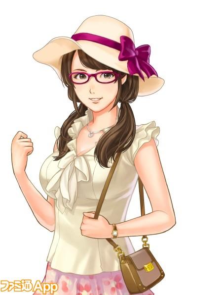 秘書_夏のお出かけ服