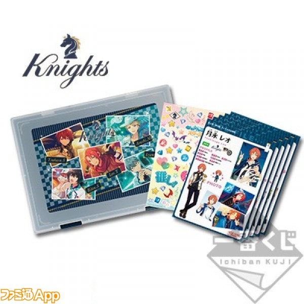 E賞 Knightsクリアケースセット
