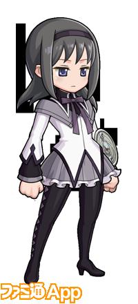 魔法少女まどか☆マギカコラボ_魔法少女装束【ほむら】