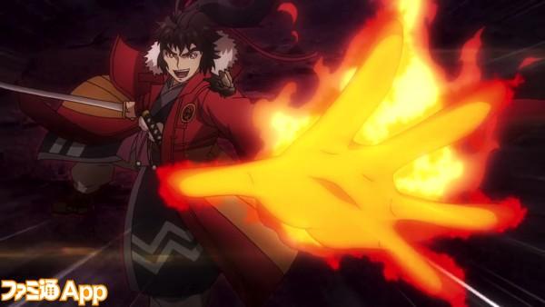 モンストアニメ_龍馬獣神化