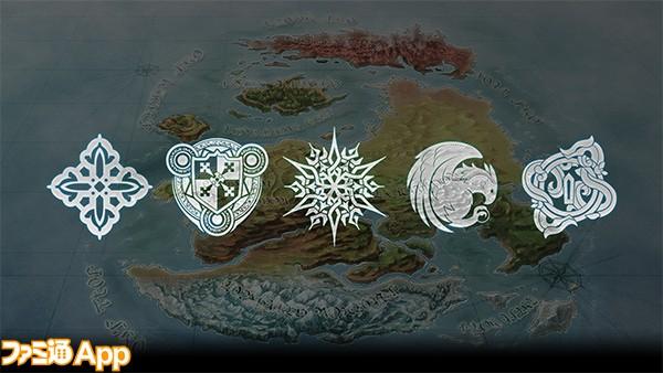 チェンクロ3_地図と紋章