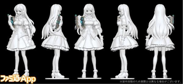 FIX_リズ_3Dプリントフィギュア