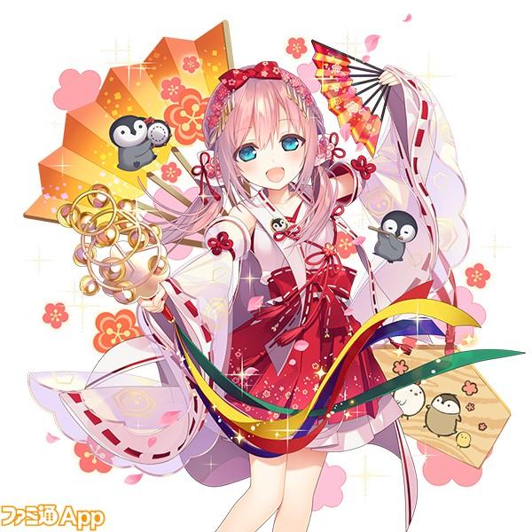 【正月Ⅳ】雪鳥姫