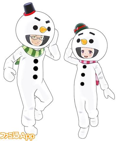 雪だるま衣装