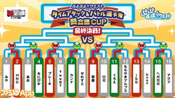 ぷよクエ闘会議CUP_トーナメント2