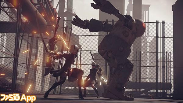 05. 「NieR:Automata」のゲーム内スクリーンショット