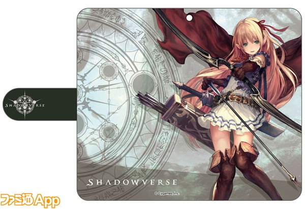 Shadowverse手帳型スマートフォンケース-アリサ