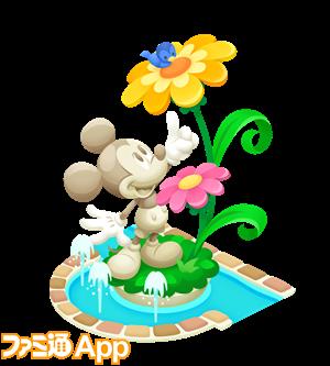 【デコ】20170413ミッキーの石膏像(完成)