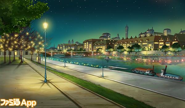 テムズ川の畔_夜