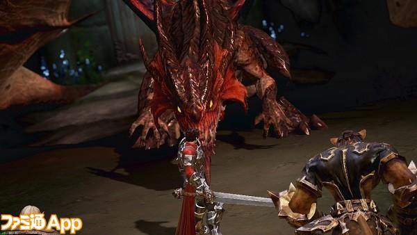 AABゲーム画面ドラゴン