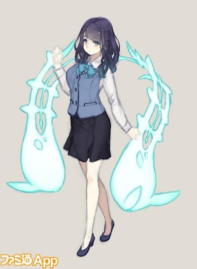 人魚姫デザイン画