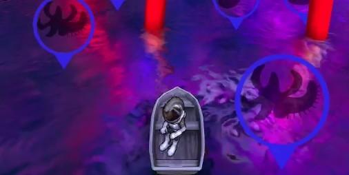 """【新作】獰猛な魚""""ヒトガタ""""から星の海を取り戻す釣りゲーム 『星の釣り人』"""