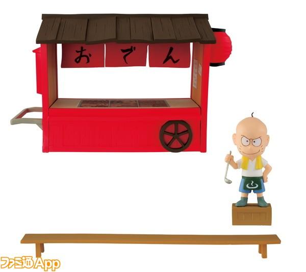 11月 おそ松さん-MEGAワールドコレクタブルフィギュア-チビ太のおでん-