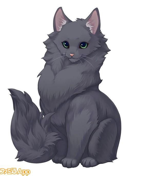 ねこ島レディ(黒猫♀)_preview