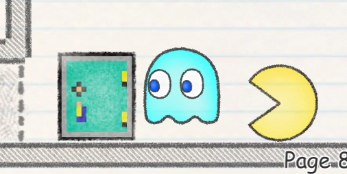 【新作】パックマンがノートに閉じ込められた!物理パズルで救出しよう『パックマンNOTE ページからの脱出』