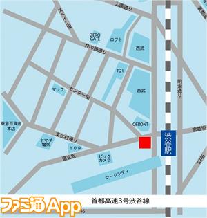 04_地図_東京渋谷駅前大型ビジョン(シブハチヒットビジョン)