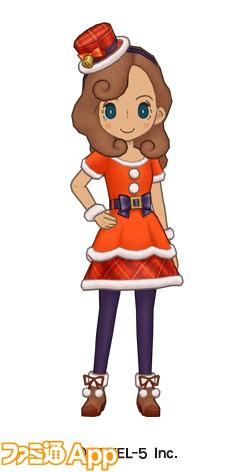 02_クリスマス風の服