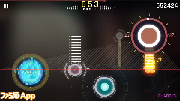 Cytus II_Gameplay