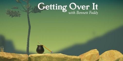 【新作】話題のバカゲー!『Getting Over It』が発狂するほど難しいのに止められないワケ