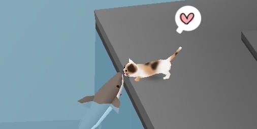 【新作】港街で気ままに生きる猫たちと過ごす箱庭シミュレーション『猫とサメのいる街』