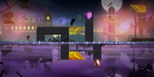 【新作】鏡面のように反射するふたつの世界を行き来してゴールを目指すパズルアクション『Samsara Game』