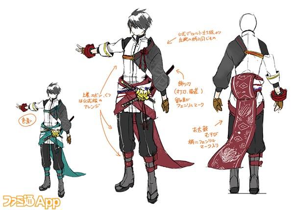 衣装(男)部門