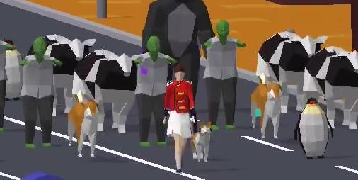 【新作】動物を引き連れ大行進!! 体で感じ指先で奏でるリズムゲーム『PARADE! -The Rhythm Battle-』