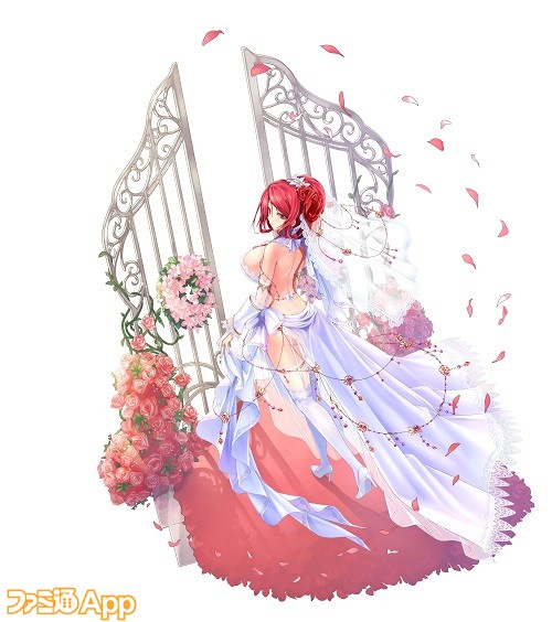 【ユニット用】シェキナー_ウェディングドレス